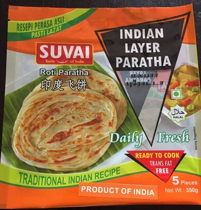 Picture of Suvai Indian Layer Pratha 5pcs