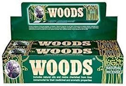 Picture of Woods Incense Sticks (12 X pack)