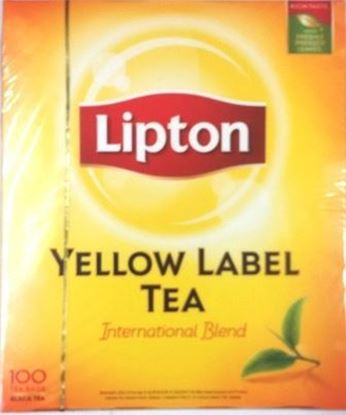 Picture of Lipton Yellow Label Tea(100 Tea Bags)