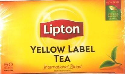 Picture of Lipton Yellow Label Tea(50 Tea Bags)