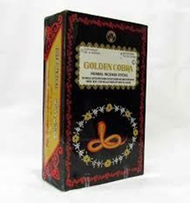 Picture of Golden Cobra Incense Sticks 1x12 pac
